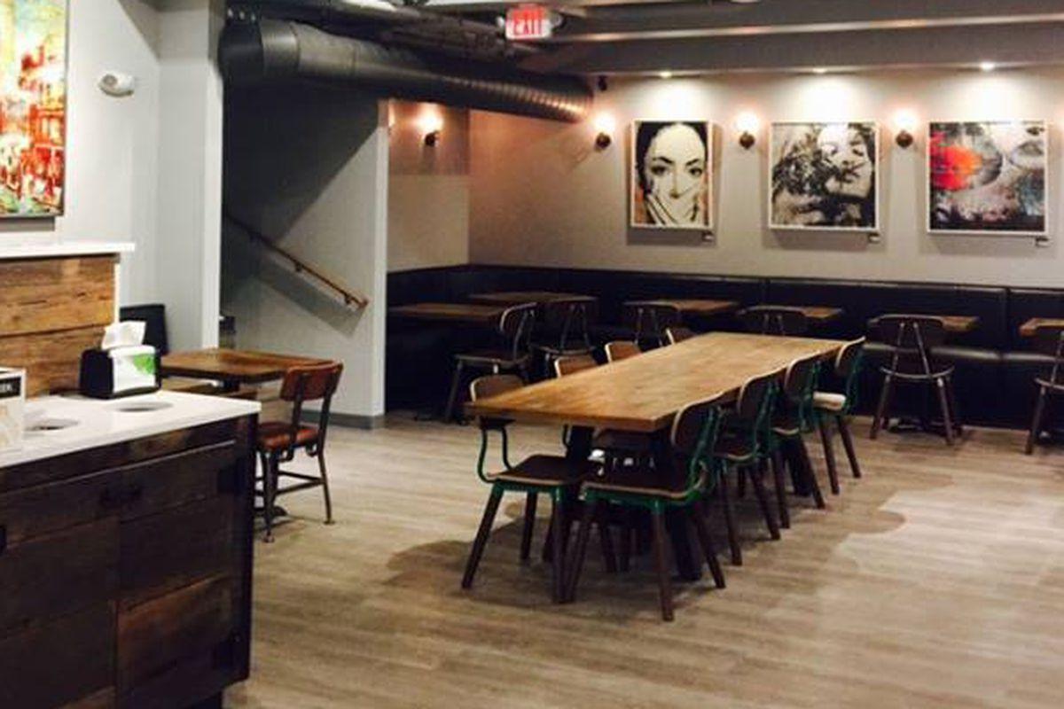 NU Café in Somerville