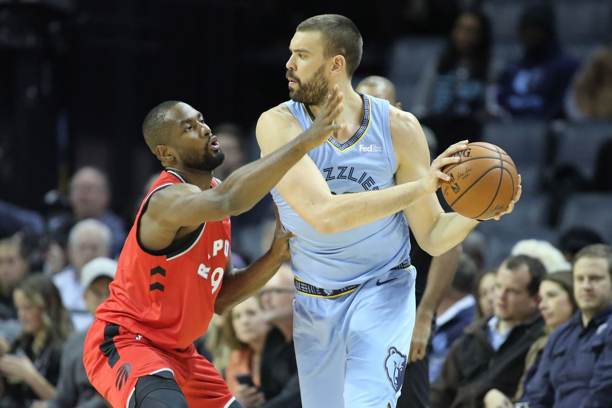 NBA: Toronto Raptors at Memphis Grizzlies
