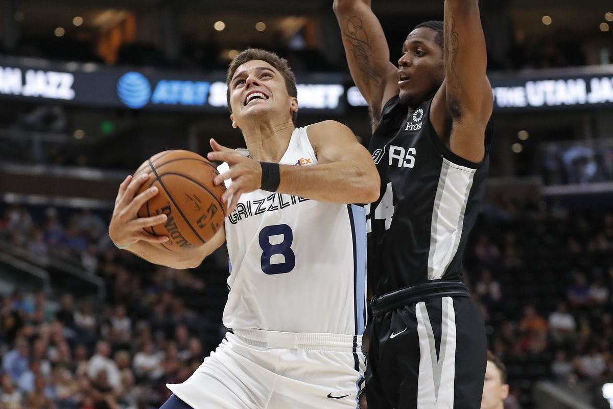 buy online 89d04 0c1a5 Grizzlies fall to Spurs 99 - 84 - Grizzly Bear Blues