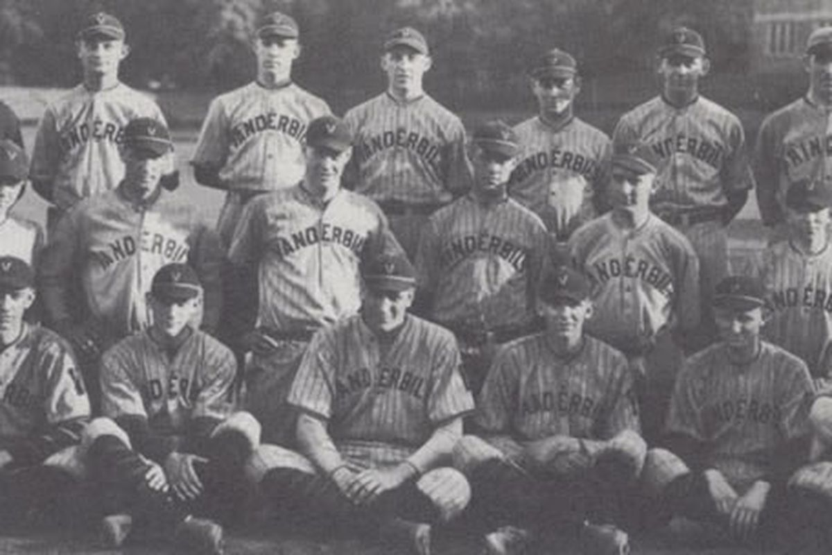 """Your 1921 Vanderbilt Commodores. That guy in the Princeton uniform? <a href=""""http://vucommodores.cstv.com/genrel/050207aad.html"""" target=""""new"""">That's their coach.</a> Or, as Lane Kiffin would call him, """"great-grandpa""""."""