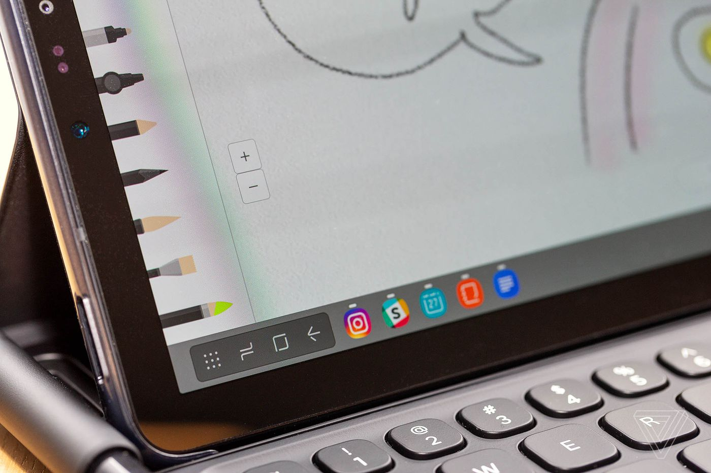 Samsung Galaxy Tab S4 review: valiant effort - The Verge