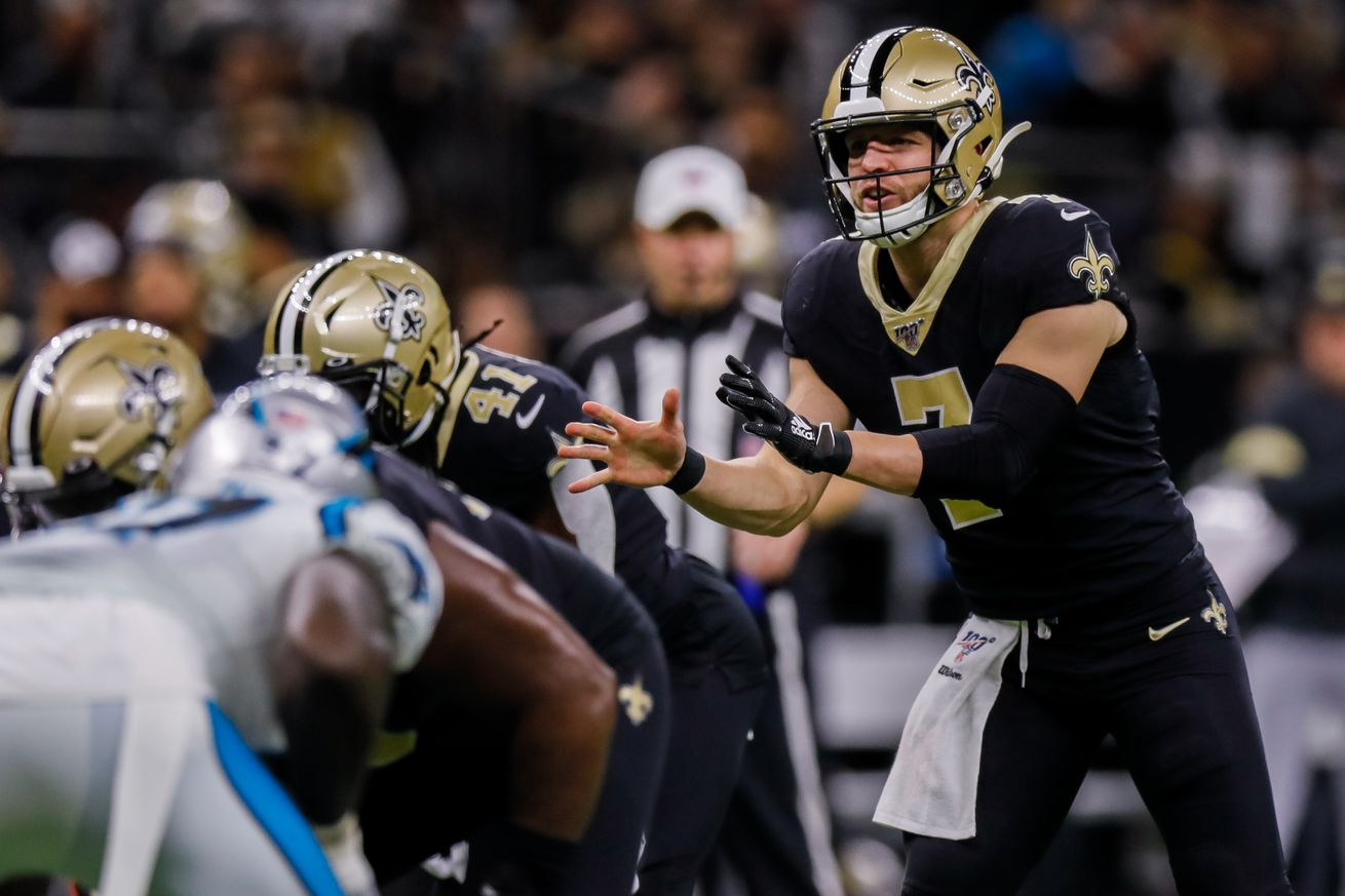 NFL: NOV 24 Panthers at Saints