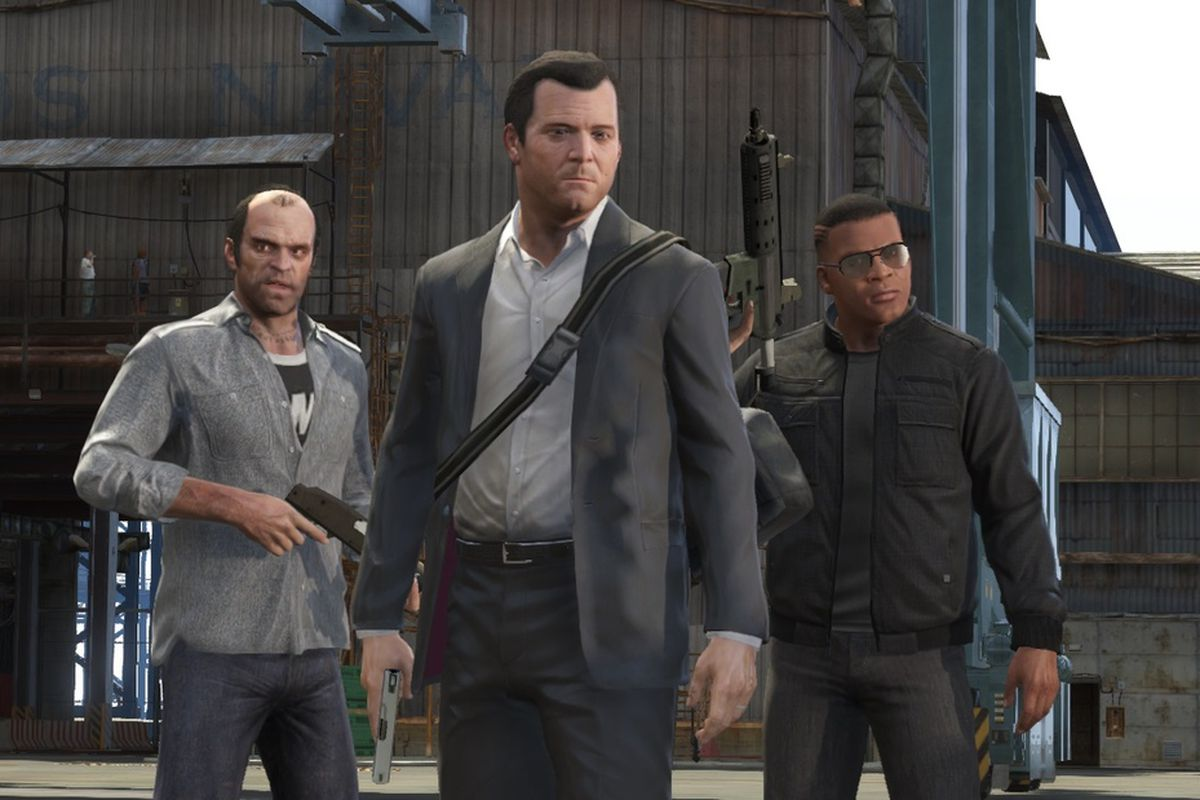 Grand Theft Auto 5 - Trevor, Michael, Franklin