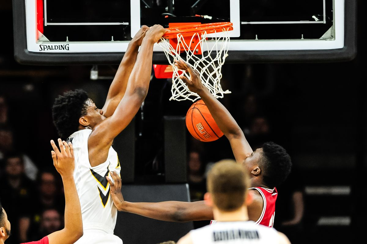 NCAA Basketball: Indiana at Iowa