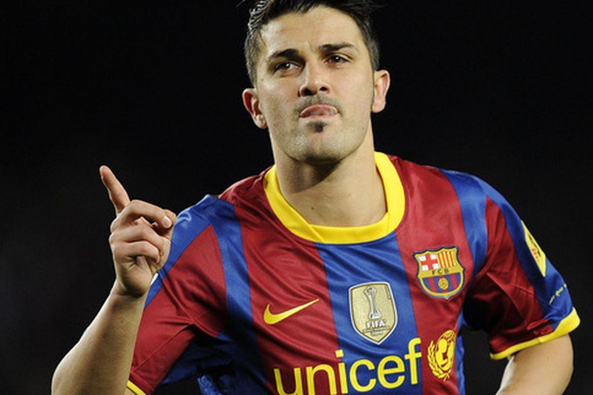FC Barcelona 2010 11 Season in Review David Villa Barca Blaugranes