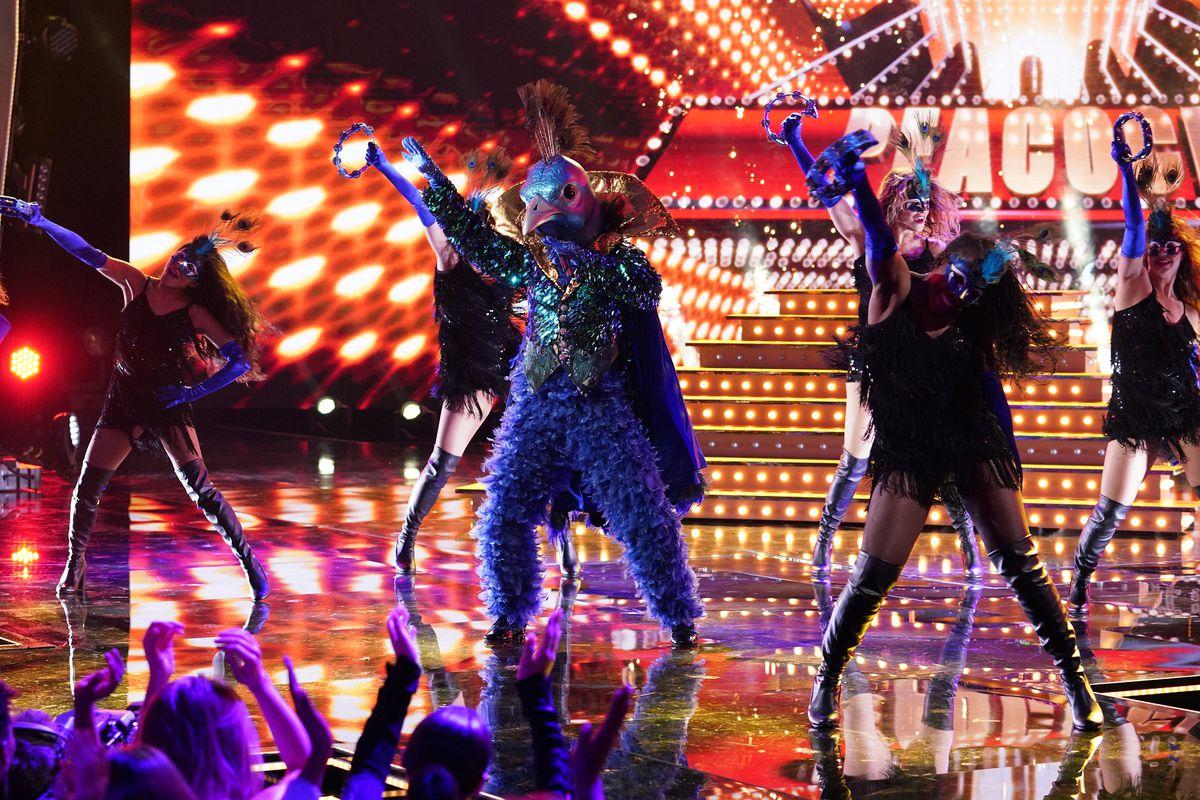 Peacock masked singer