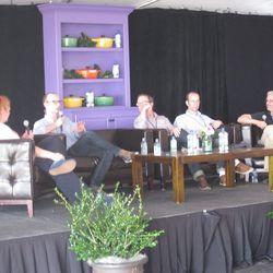 The Future for Foodies panel w/ Joe Yonan, Matt Lee, Ted Lee, and John T. Edge