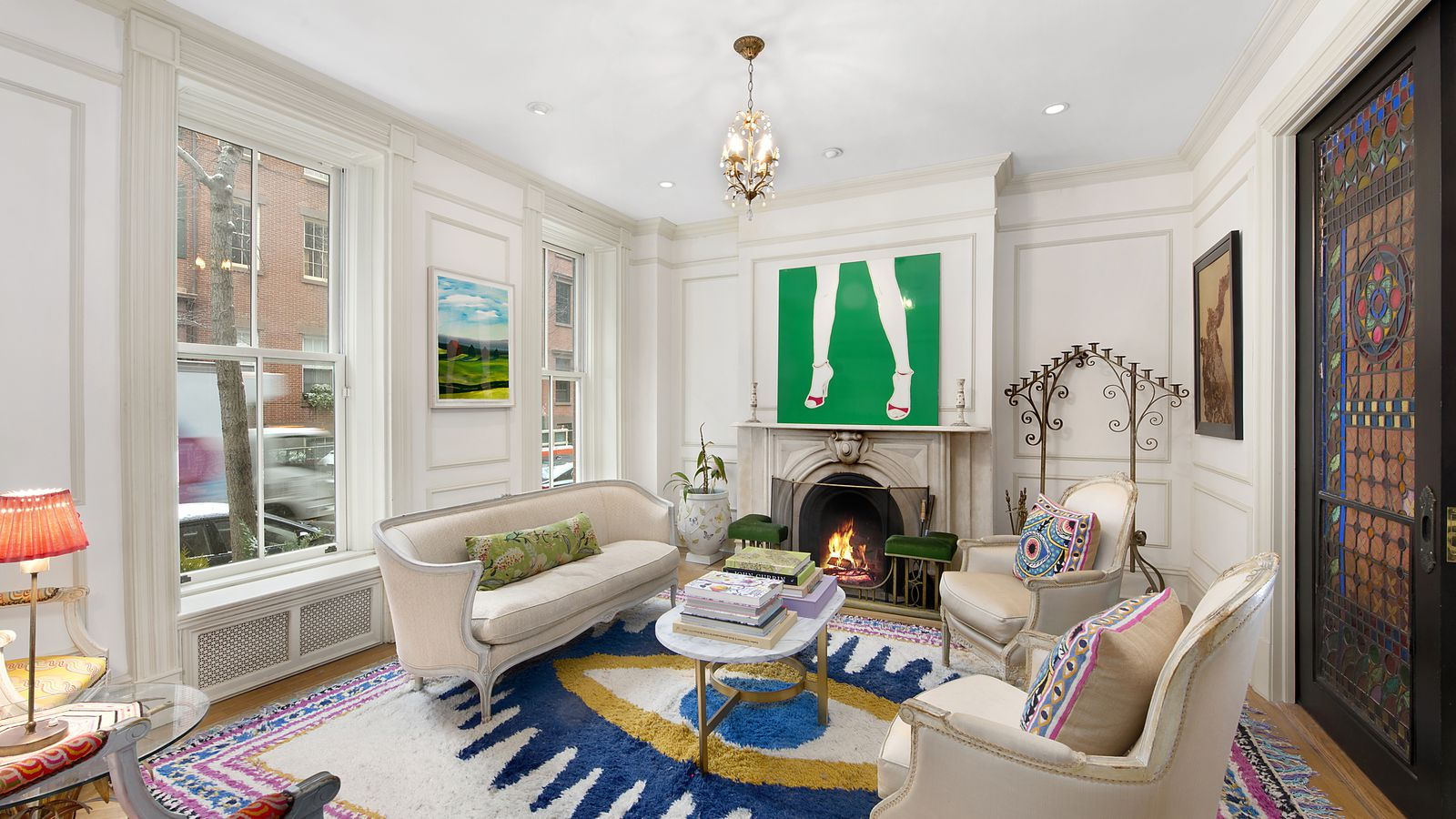 Greenwich village federal style townhouse dating to 1829 for Townhouse for rent nyc