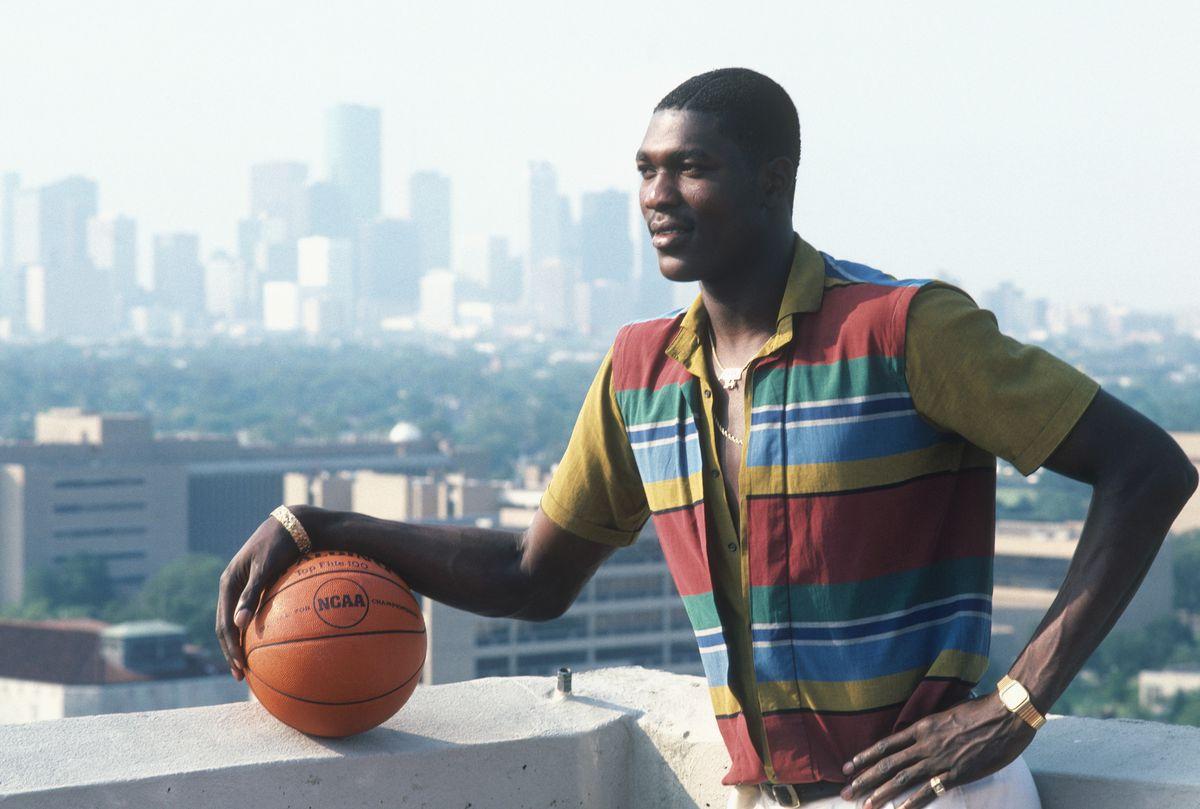 Hakeem Olajuwon (Focus on Sport/Getty Images)
