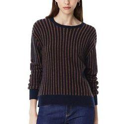 "The <a href=""http://www.theory.com/jaidyn-sv-avalon-sweater/D1011708,default,pd.html?"">Jaidyn SV Sweater in Avalon Wool Blend</a>, $345"