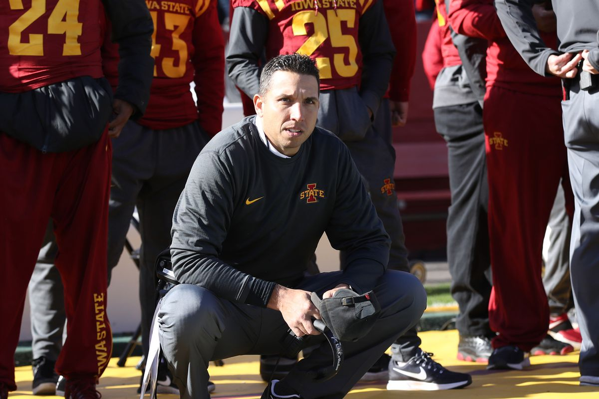 Iowa State's Matt Campbell inks new contract