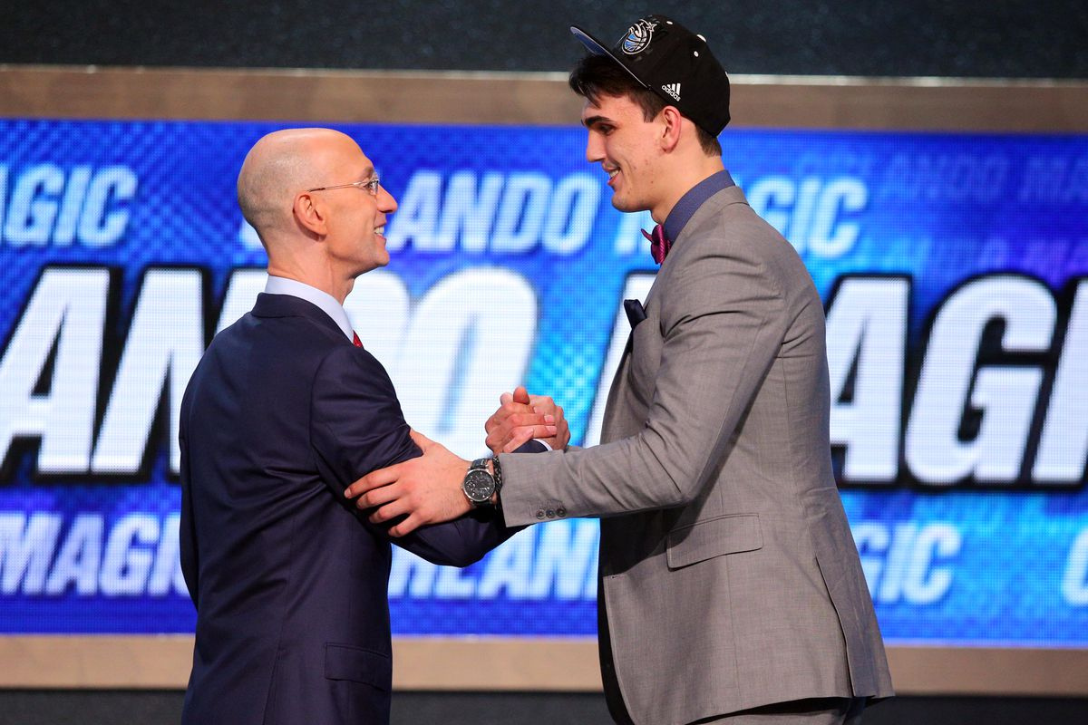 Remember this? Dario was officially drafted by Orlando with a pick the Sixers eventually traded for.