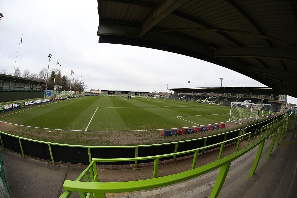 Forest Green Rovers v Northampton Town - Sky Bet League Two
