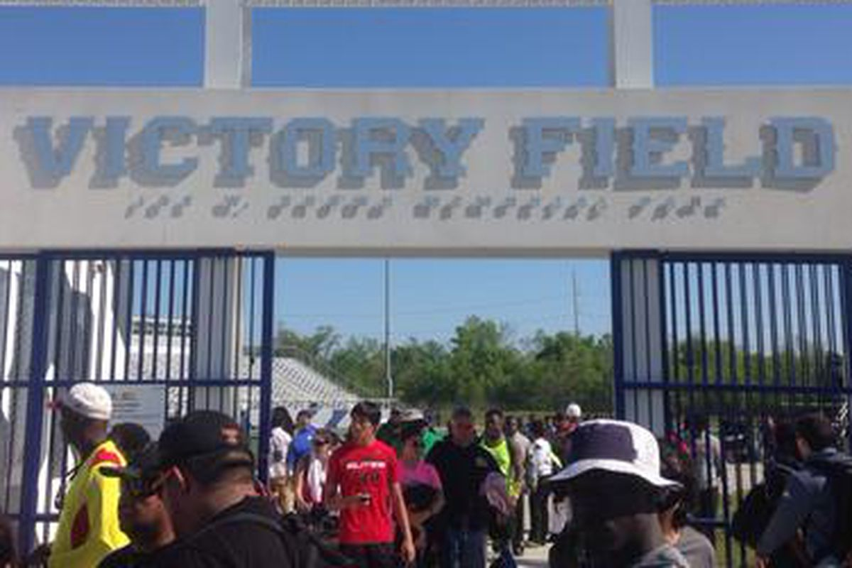 Victory Field was the home for the New Orleans Nike Opening Camp.