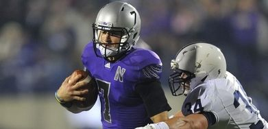 53fc54e77 Northwestern ditched Adidas for Under Armour less than a year after the  team had to wear this.