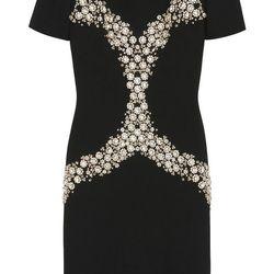 Carla Dress in textured stretch wool, $2,950
