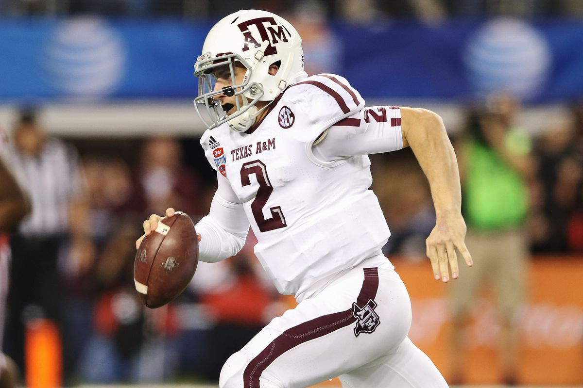 Johnny Football: The nation's most efficient collegiate quarterback in 2012.