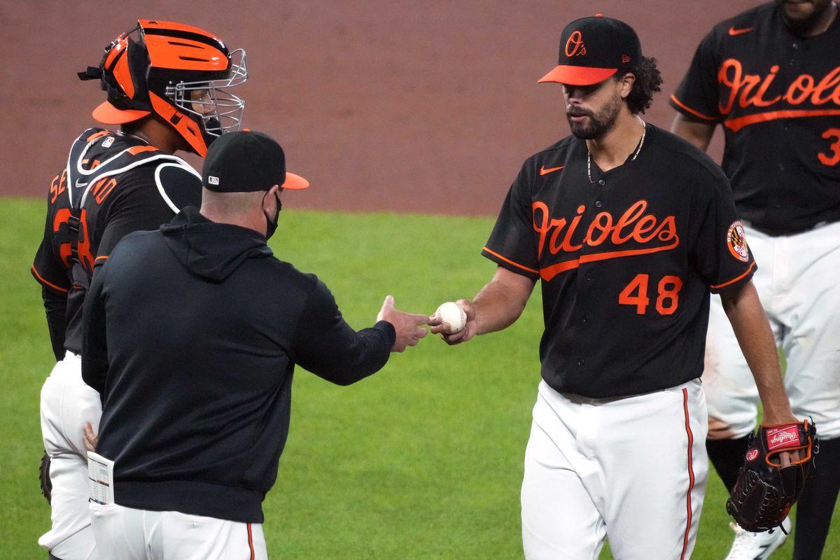 MLB: Oakland Athletics at Baltimore Orioles