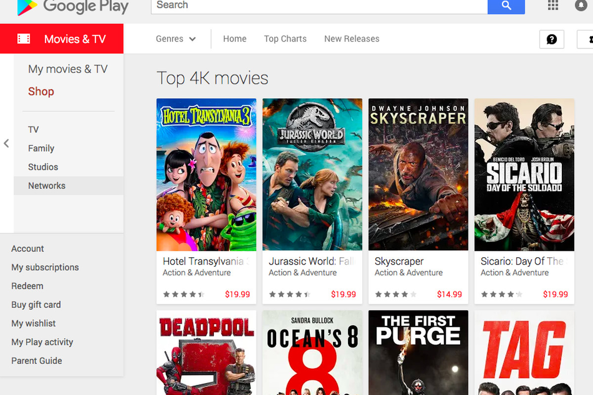 Google Play Is Upgrading Your Movie Purchases To 4K For -3526