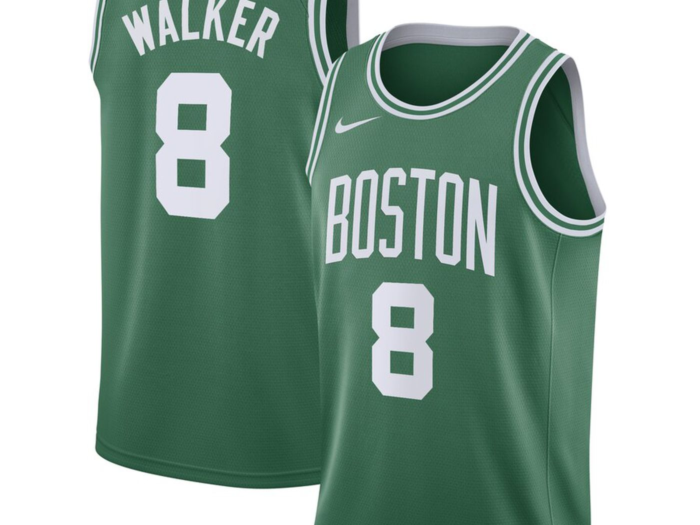 pretty nice c027a 16f96 The Kemba Walker era begins with his new Boston Celtics Nike ...