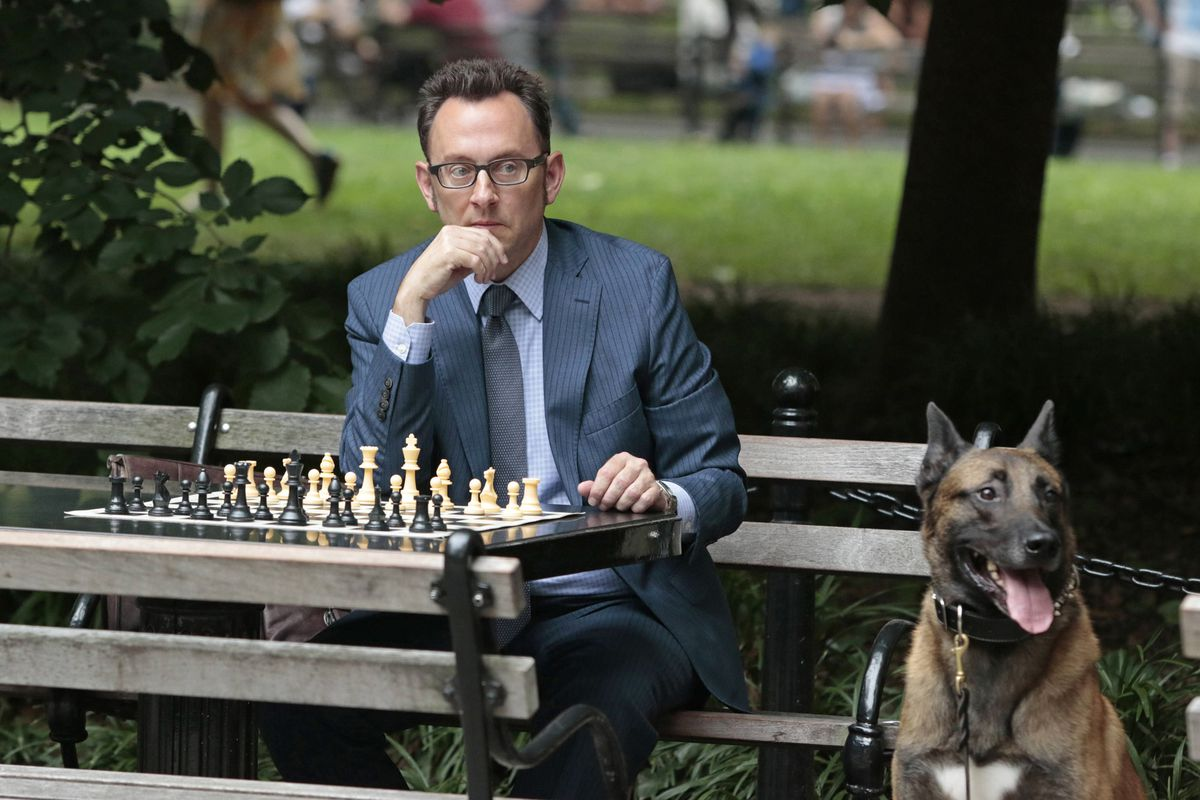 Michael Emerson is doing amazing work on Person of Interest, a show your parents watch that you should watch too. Also, his character has a dog.