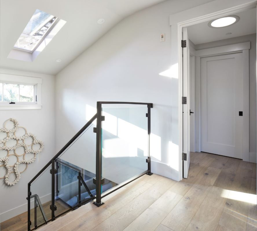 Sun Tunnel And Skylight For Stairwell