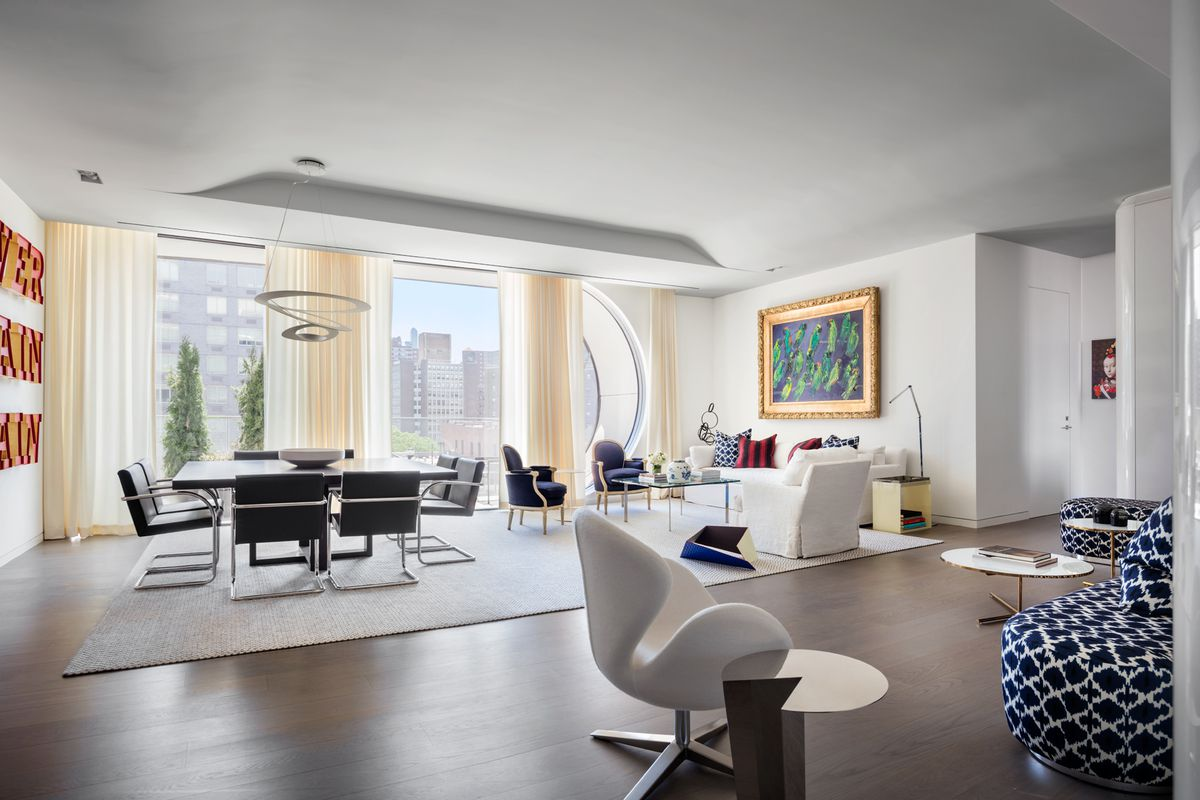 Zaha Hadids High Line Hugging Condo Unveils A New Model