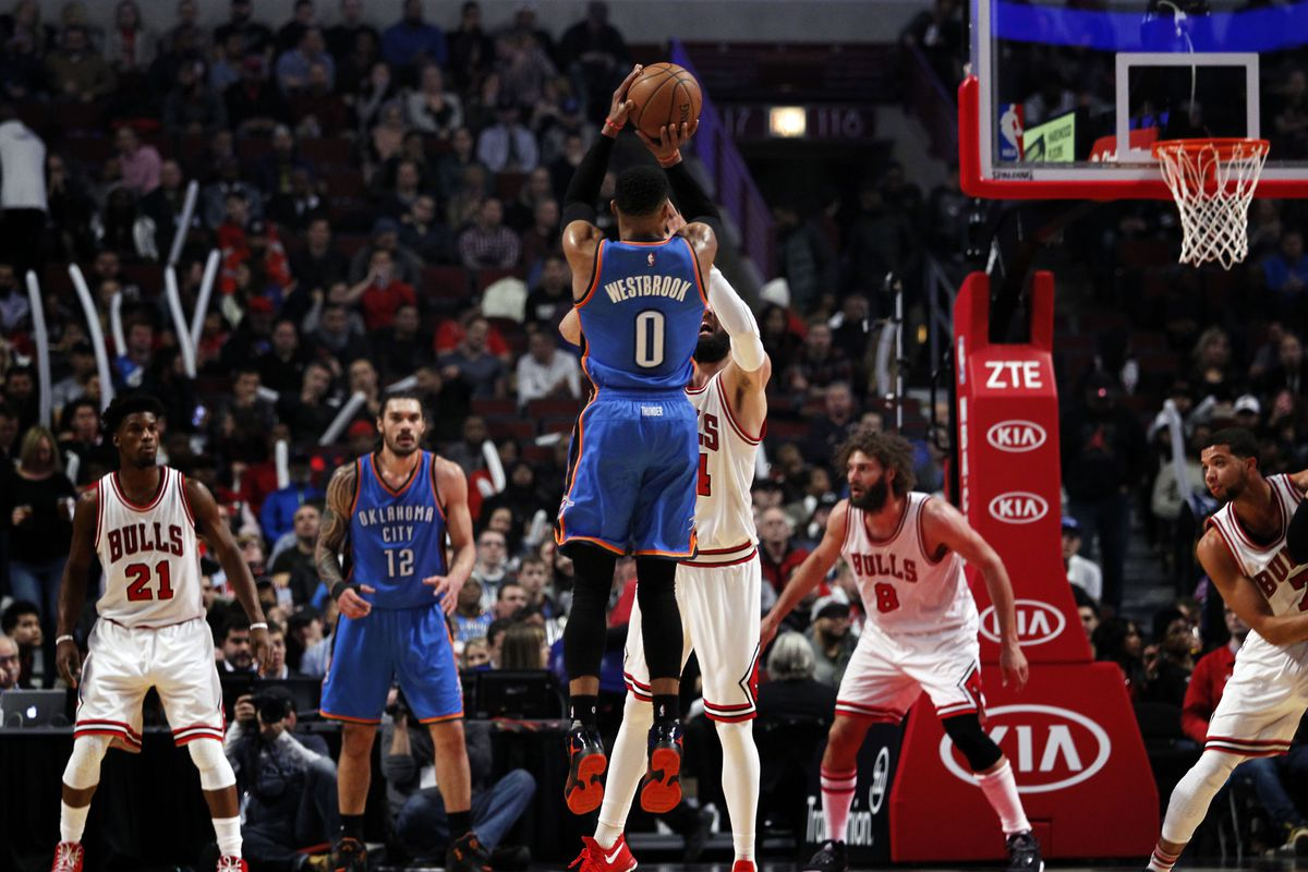 NBA: Oklahoma City Thunder at Chicago Bulls