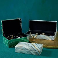 """Agate Jewelry Box, <a href=""""http://www.westelm.com/products/agate-jewelry-box-d1237/?pkey=e