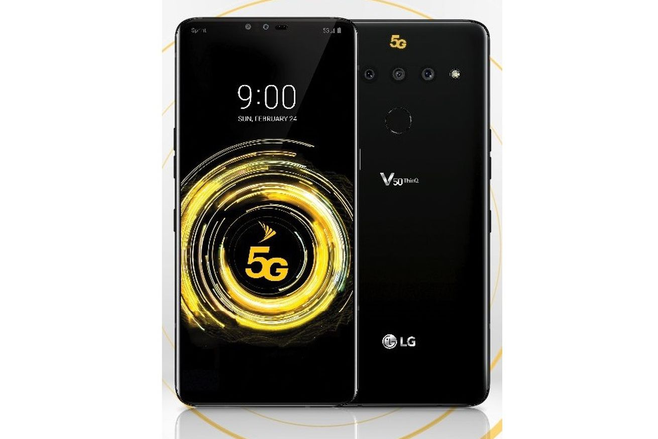 lg s first 5g phone just leaked here s the v50 thinq