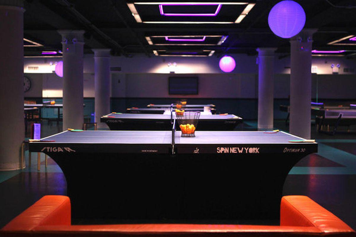 Susan Sarandon S Spin Bar Restaurant Bringing Ping Pong To