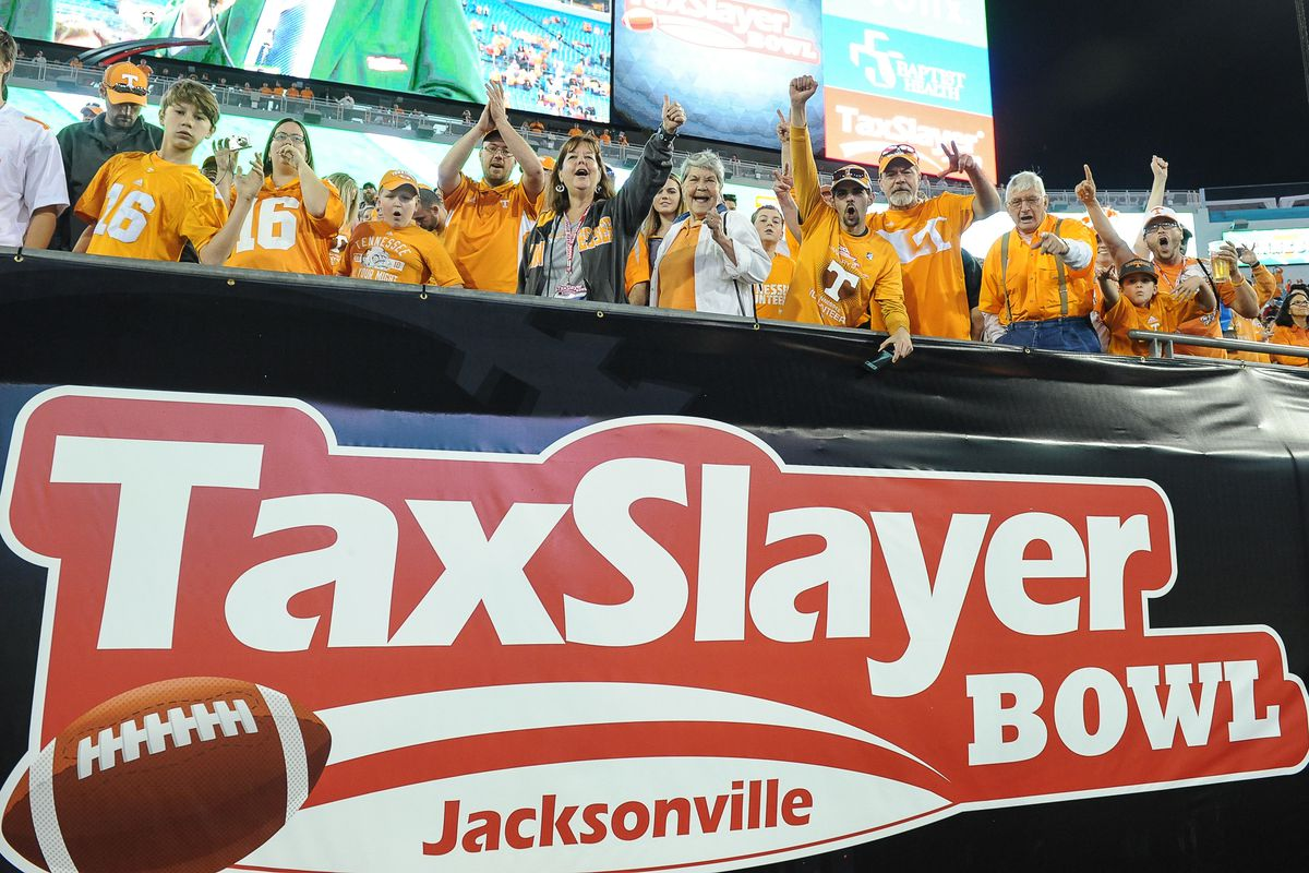 NCAA FOOTBALL: JAN 02 TaxSlayer Bowl - Iowa v Tennessee