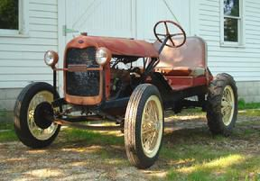 A 1928 Ford AA Doodlebug at the Beller Museum.   Photo courtesy of the Beller Museum.