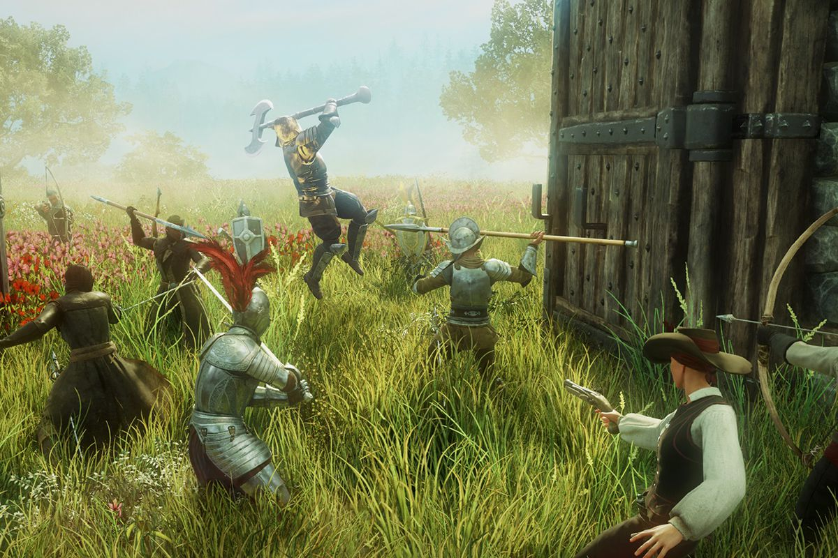 Colonists fight in New World