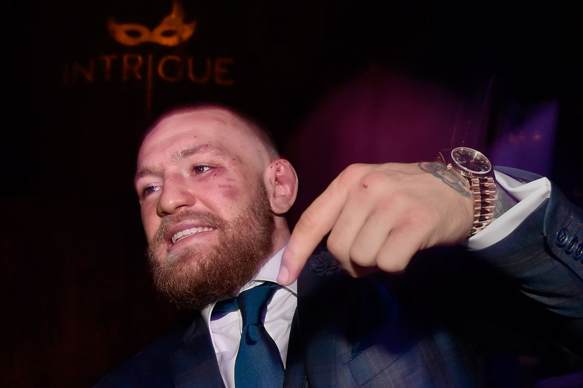 Conor McGregor Official Fight After Party At Intrigue Nightclub, Wynn Las Vegas