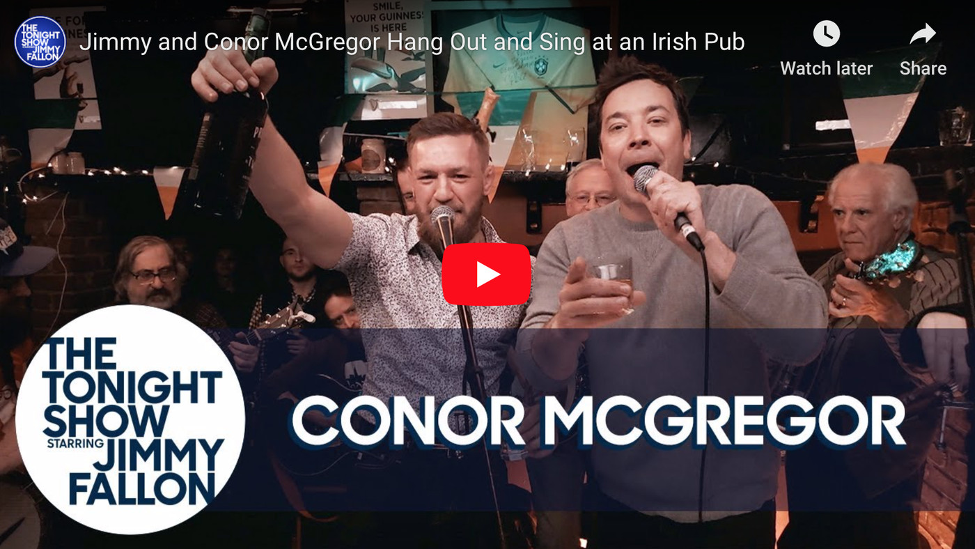 Hear what Conor McGregor told Jimmy Fallon before retiring from UFC - 'I'm eager to fight'