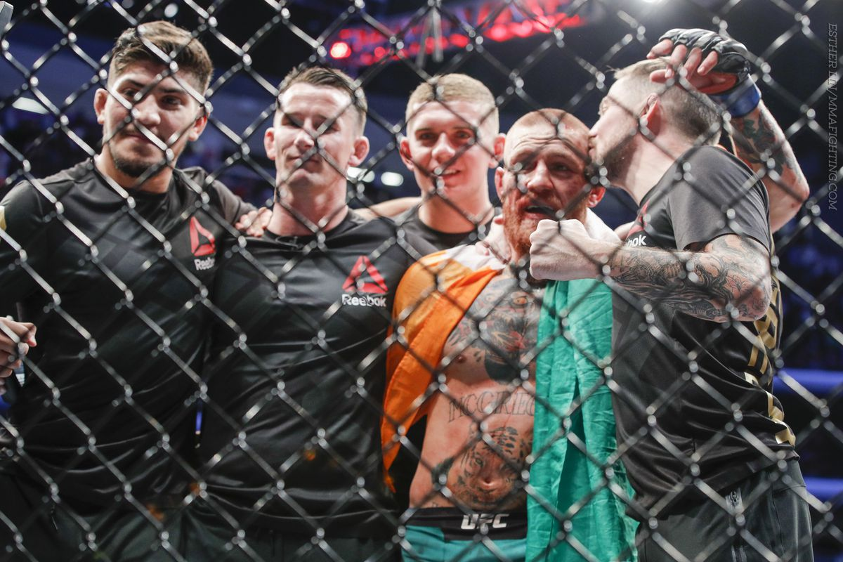 Dillon Danis (far left) wants to fight Nate Diaz in MMA.