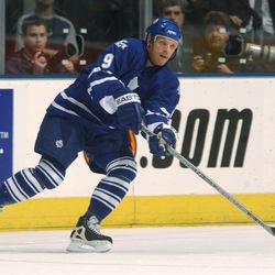 Calle Johansson, Toronto Maple Leafs (Photo by Dave Sandford/Getty Images)