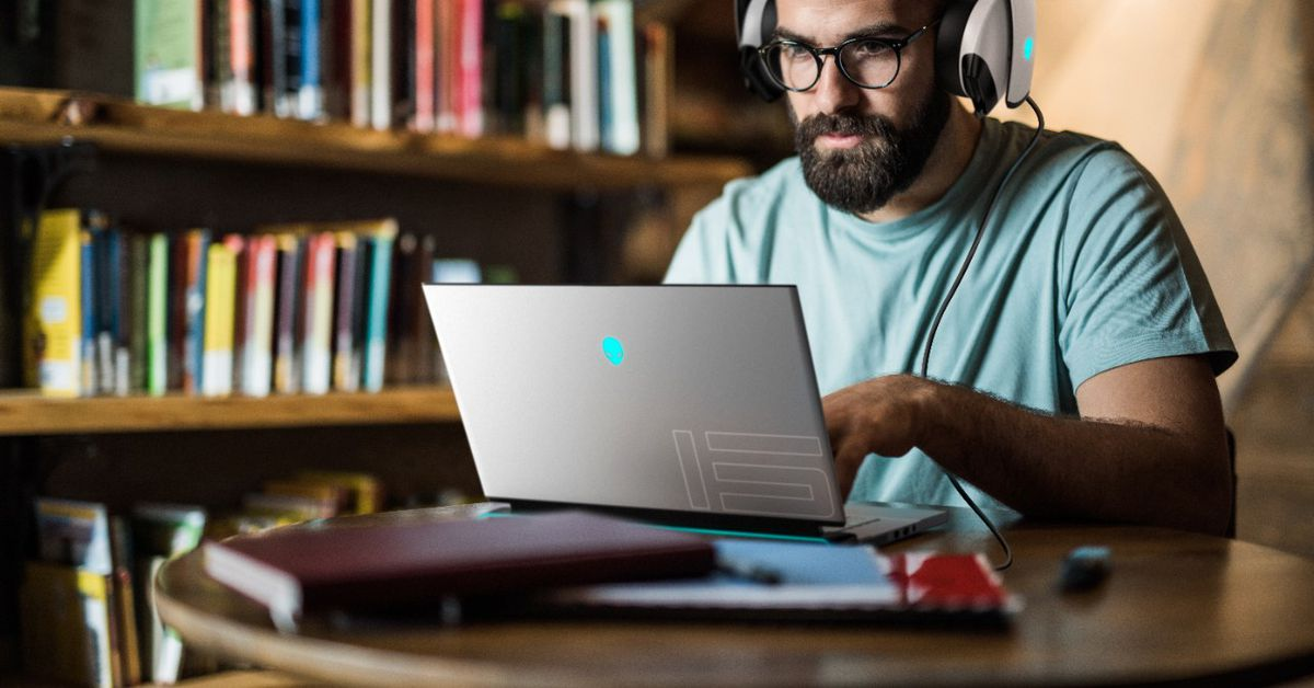 Dell updates its Alienware m15 and m17 laptops with Nvidia's new RTX 3000 GPUs