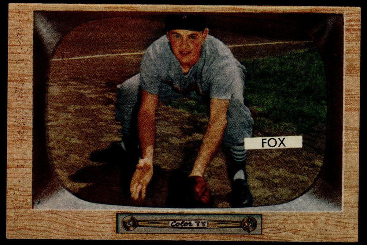 Nellie Fox's 1955 Bowman