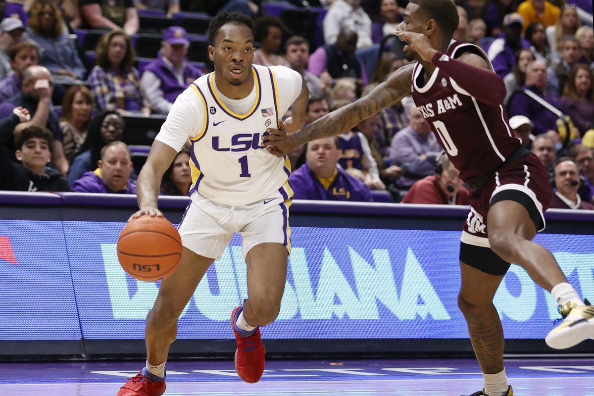 NCAA Basketball: Texas A&M at Louisiana State