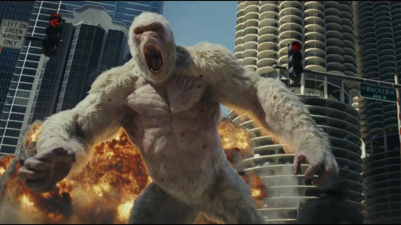 Rampage Review Either The Dumbest Or Most Sneakily Genius Action