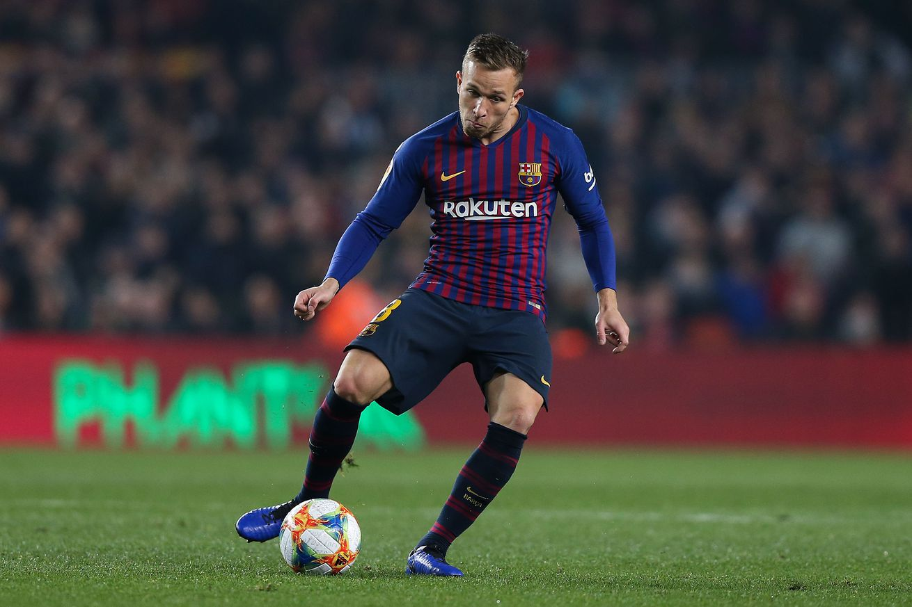 Injured Arthur ruled out for ?three to four weeks?