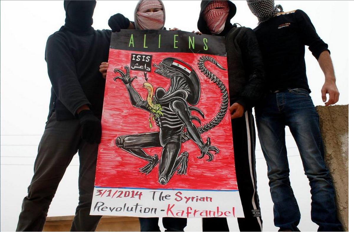 Kafranbel ISIS alieans