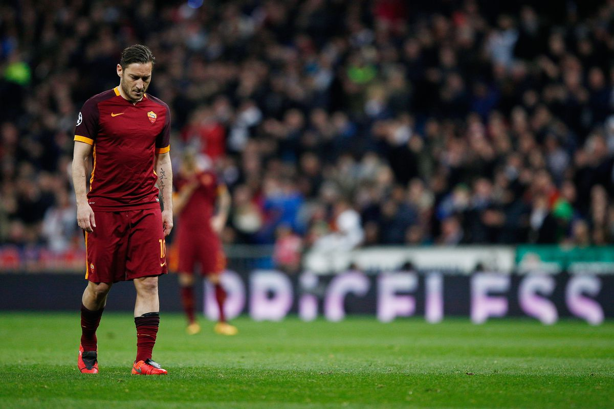 Roma to fer Francesco Totti Director Role Chiesa Di Totti