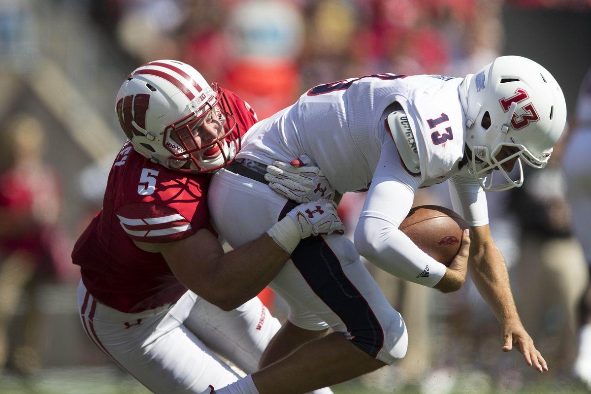 NCAA Football: Florida Atlantic at Wisconsin