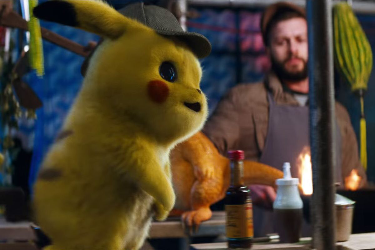 Detective Pikachu S First Trailer Is Ripe For Some Electrifying