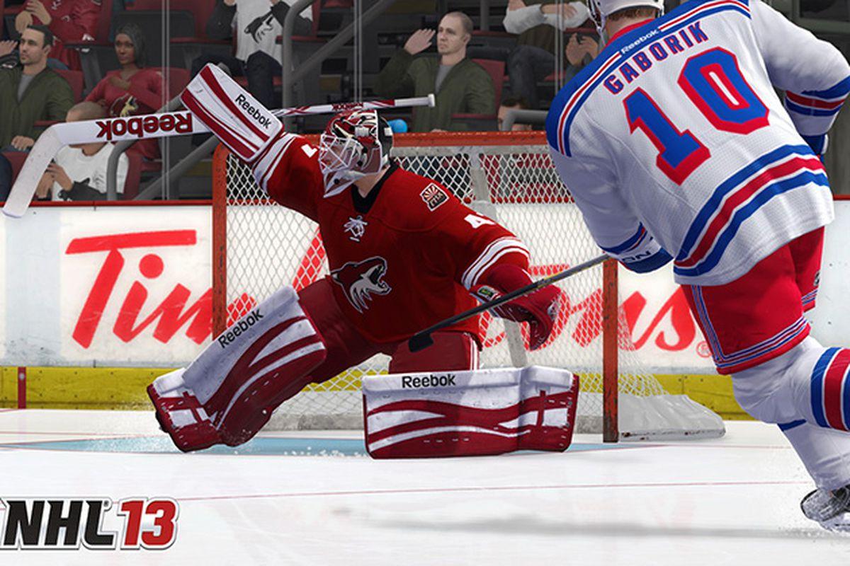 NHL 13 Smith Gaborik