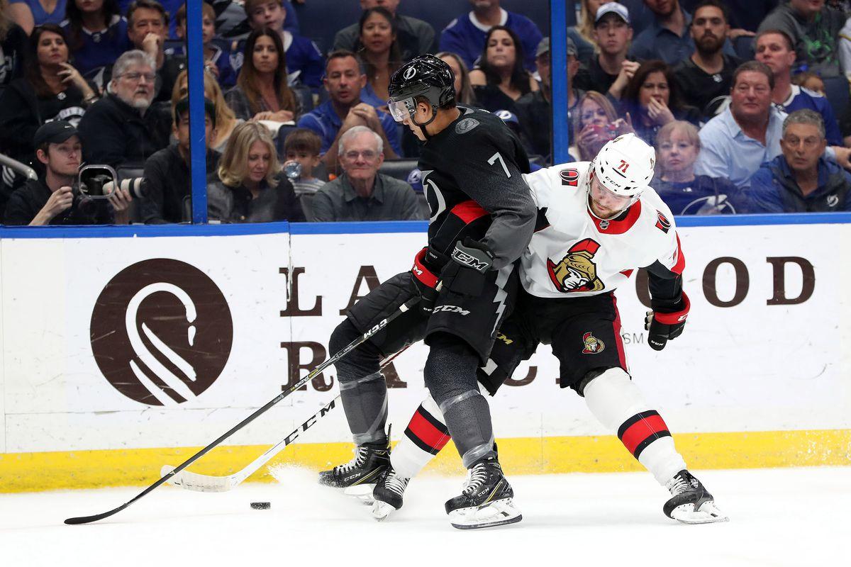 Open Thread, Game 79: Tampa Bay Lightning @ Ottawa Senators