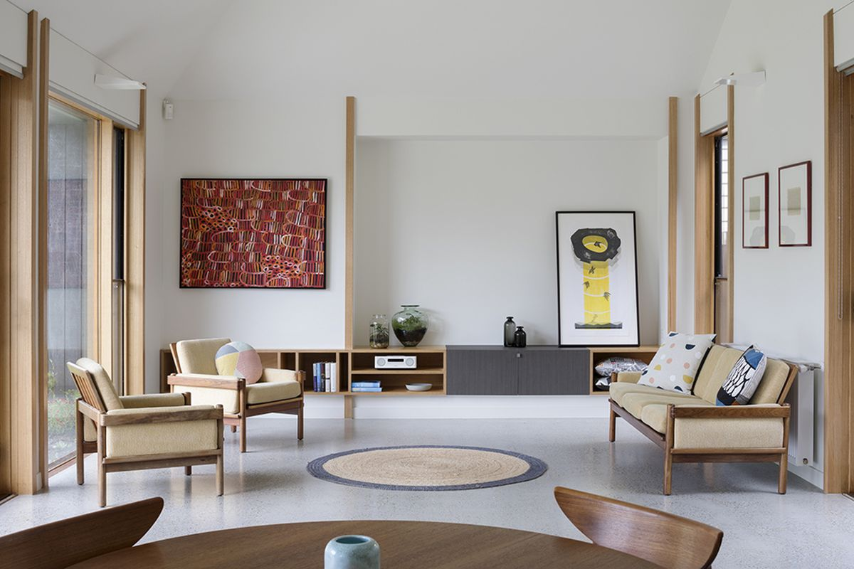 Modern home gets a high-end look with low-cost materials - Curbed